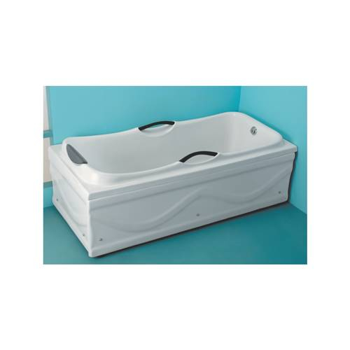CERATON 8002 Bathtub With Head Rest