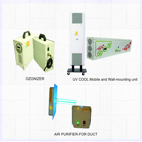 Airpurifier-UV COOL,Ozonizer,For Duct