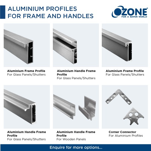 Aluminium Profiles for Frame and Handles