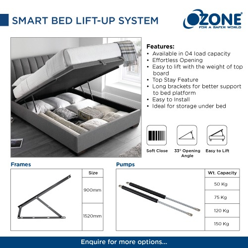 Smart Bed Lift-Up System